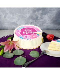 Vanilla & Raspberry Delight Cake