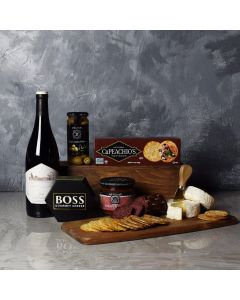 From Italy With Love Wine & Cheese Gift Basket