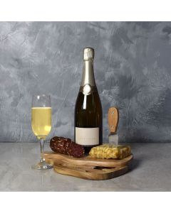 Toast to Meat & Cheese Champagne Basket