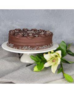 Large Vegan Chocolate Cake
