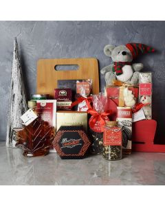 Chocolate Truffles & Christmas Sleigh Basket