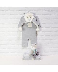 LLAMA UNISEX BABY GIFT SET, baby gift hamper, newborns, new parents
