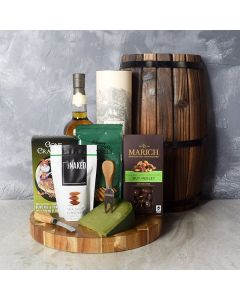 Snacks & Spirits Basket