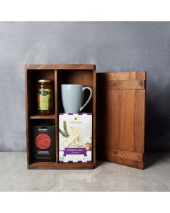 Kosher Teatime for One Gift Box, gift baskets, gourmet gifts, gifts, kosher