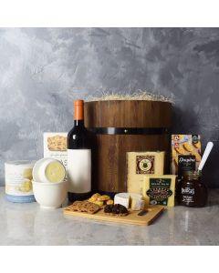 The Bountiful Artisanal Platter With Wine