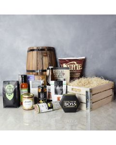 Deluxe Beer and Snack Crate, gift baskets, gourmet gift baskets, gift baskets