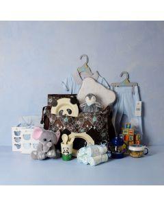BABY BOY ADVENTURE SET, baby boy gift hamper, newborns, new parents