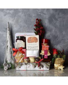 Wonderful Christmastime Gift Basket