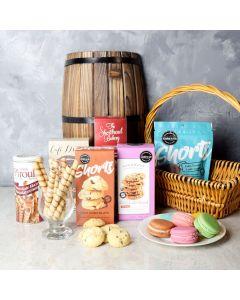 Gourmet Cookie Assortment Gift Basket, gourmet gift baskets, gourmet gifts, gifts