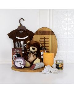 DAD & BABY'S LAZY SUNDAY GIFT SET baby gift basket,, welcome home baby gifts, new parent gifts
