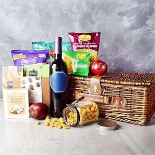 Diwali Gift Basket With Sparkling Gifts & Goodies New Hampshire