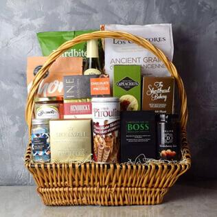 Markham Rustic Wine Gift Basket New Hampshire