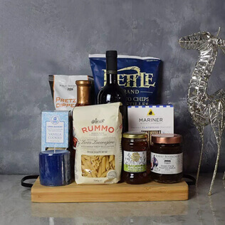Hanukkah Kosher Wine & Pasta Basket New Hampshire