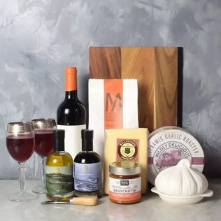 Pasta Lovers Wine Gift Basket New Nampshire
