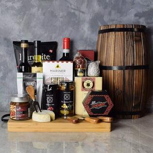 Rustic Italian Gourmet Gift Basket New Hampshire