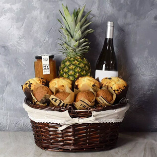 Tropical Muffin Gift Basket New Hampshire