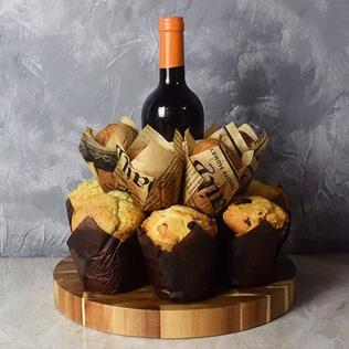 Wine & Muffins Gift Set New Hampshire