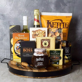Champagne & Cheese Platter Gift Set Manchester