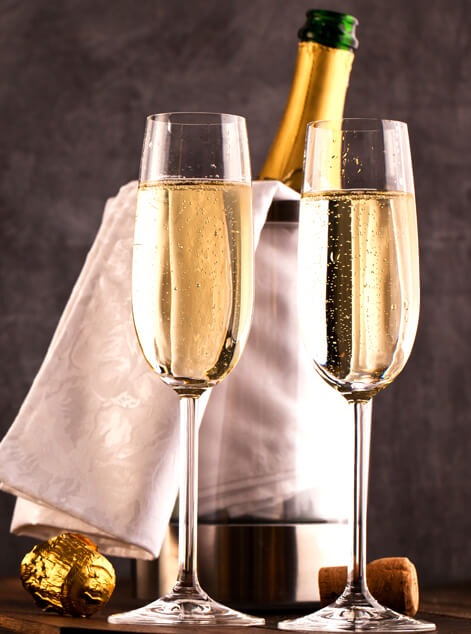 Champagne Gift Baskets Delivery Somers