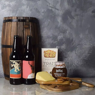 Spread A Smile Craft Beer Basket Manchester
