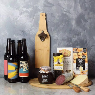 Beer & Cheese Lover's Basket New Hampshire