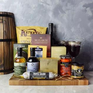 Etobicoke Wine & Cheese Gift Basket New Hampshire