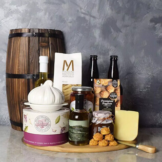 Little Italy Deluxe Craft Beer Basket New Hampshire