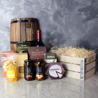 Oakridge Wine & Snack Gift Crate New Hampshire
