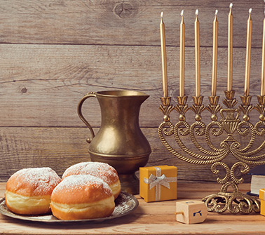 Hanukkah Gift Baskets Delivered to New Hampshire