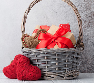 Valentine's Gift Baskets Delivered to New Hampshire